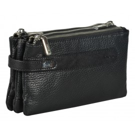 Giudi UOMO сумка м10305 кожа черный