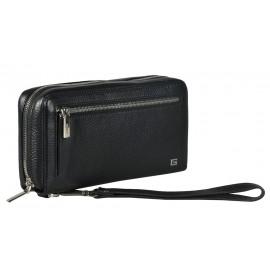 Giudi UOMO сумка м10419 кожа черный