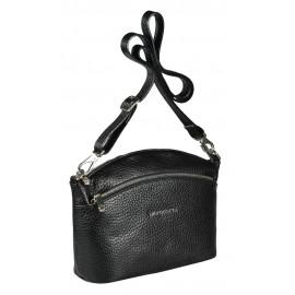 Di Gregorio сумка 8653 кожа черный