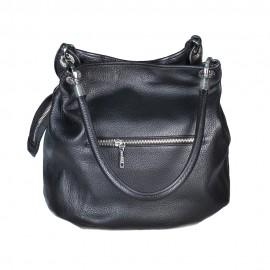Arcadia сумка 2095 кожа черный/синий/зеленый