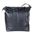 Ripani сумка 8532 кожа питон черный