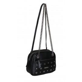 Marina C. сумка 4214/0760 кожа черный/никель