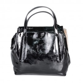 Ripani сумка 8507 ZAMIA кожа наплак черный