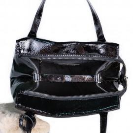 Ripani сумка 8501 ZAMIA кожа наплак черный