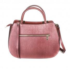 Ripani сумка 8701 CALIFFA кожа металлик бордо