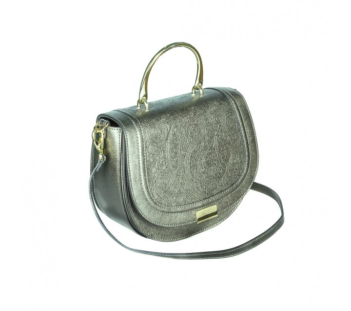 Ripani сумка 8704 CALIFFA JA калф металлик канна