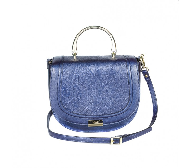 Ripani сумка 8704 CALIFFA JA калф металлик синий
