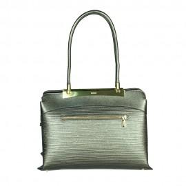 Ripani сумка 8712 CALATEA кожа калф металлик канна