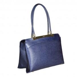 Ripani сумка 8712 CALATEA кожа калф металлик синий