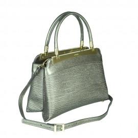 Ripani сумка 8713 CALATEA кожа калф металлик канна