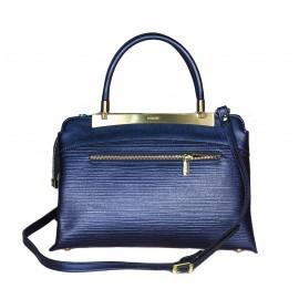 Ripani сумка 8711 CALATEA кожа калф металлик синий