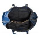 A.Bellucci сумка 400 наплак синий/зебра