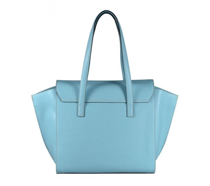 A.Bellucci сумка 523 калф руга голубой