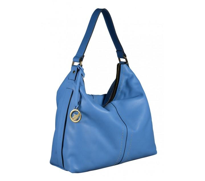 A.Bellucci сумка 342 кожа голубой