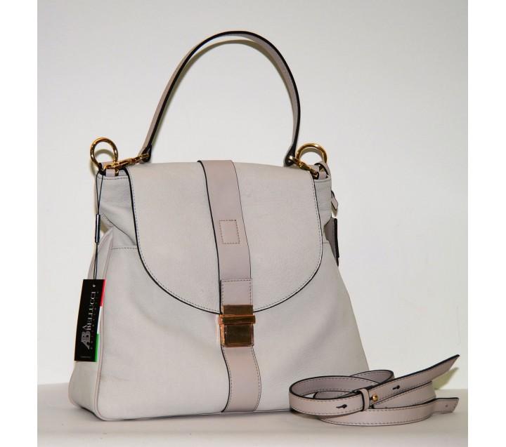 A.Bellucci сумка 550 кожа беж/таупе