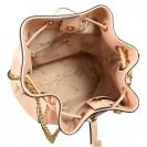 A.Bellucci сумка 471 кожа роза