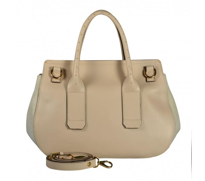 A.Bellucci сумка 590 кожа/замша беж/койо