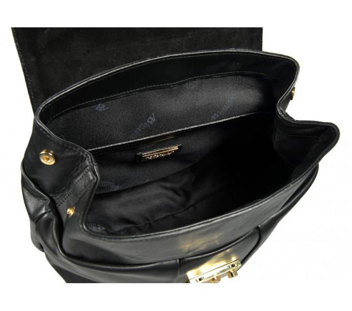 A.Bellucci сумка 181 кожа калф черный