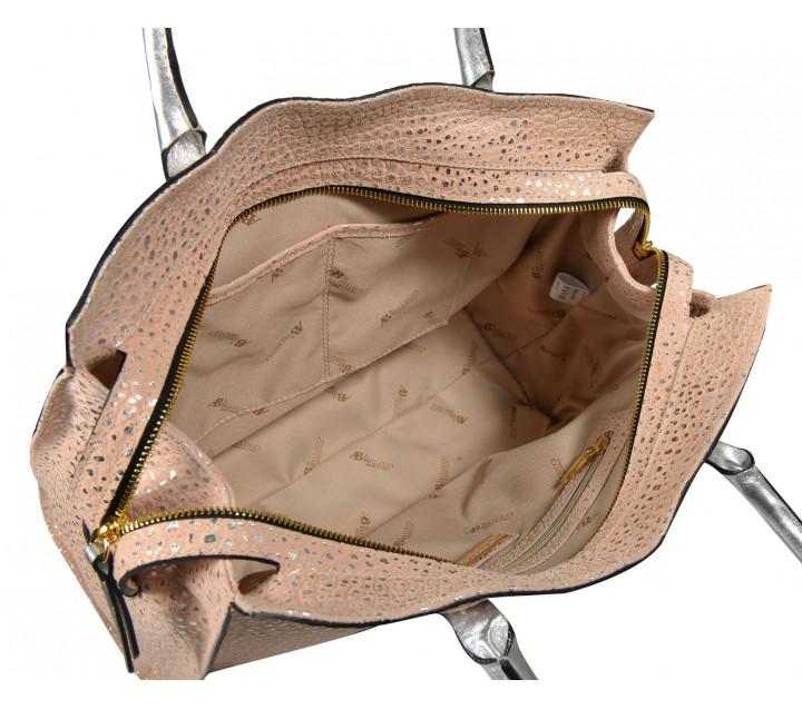 A.Bellucci сумка 250 кожа серебро