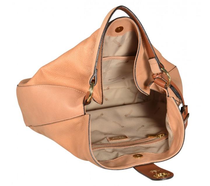 A.Bellucci сумка 571 кожа серый/койо
