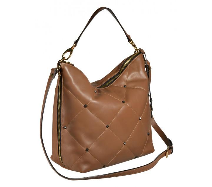 A.Bellucci сумка 451 кожа люкс таупе