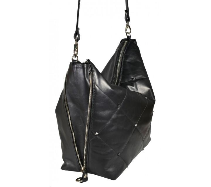A.Bellucci сумка 451 кожа люкс черный