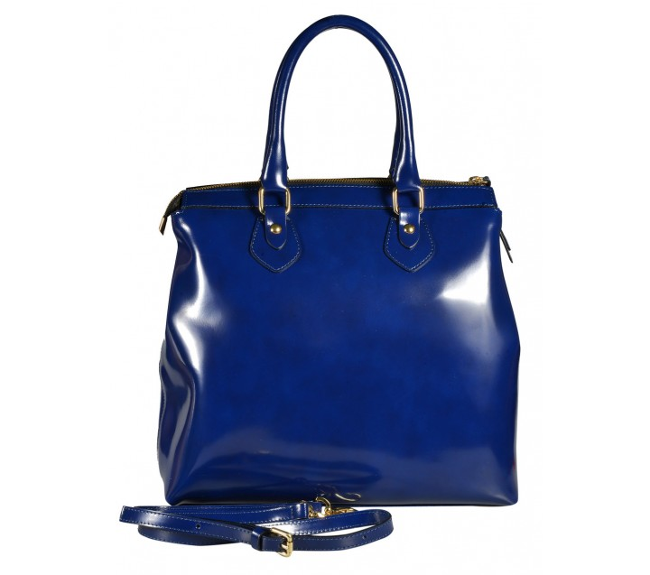 A.Bellucci сумка 851 калф синий