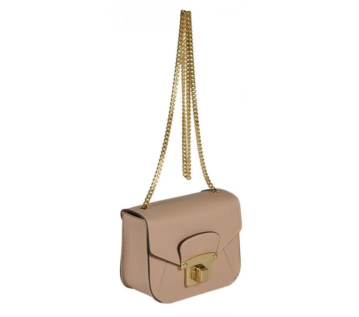 A.Bellucci сумка 530А кожа калф таупе