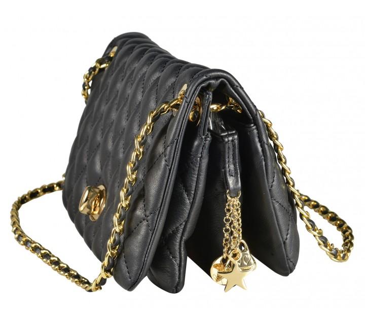 Avorio сумка 9645 кожа люкс синий/золото