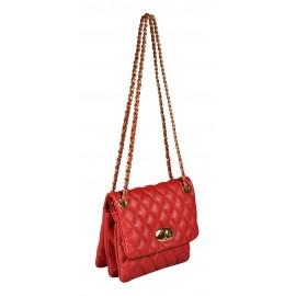 Avorio сумка 9655 кожа люкс красный/золото