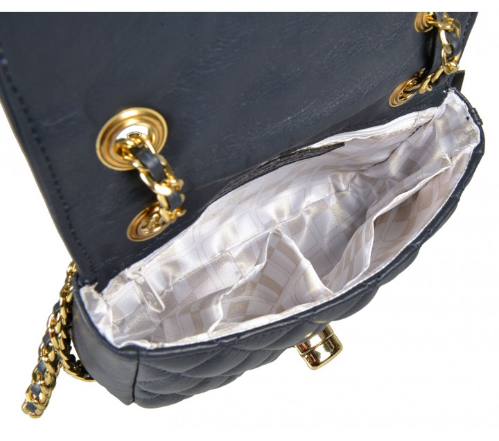Avorio сумка 9665 кожа люкс синий/золото