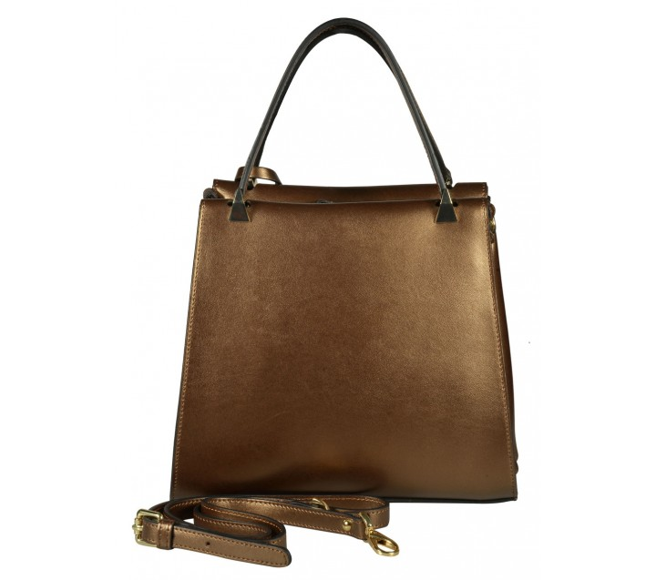 Carlo Salvatelli сумка 332 кожа кори бронза