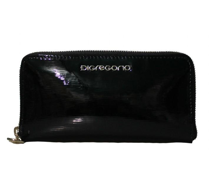 Di Gregorio сумка 8564 кожа лак черный
