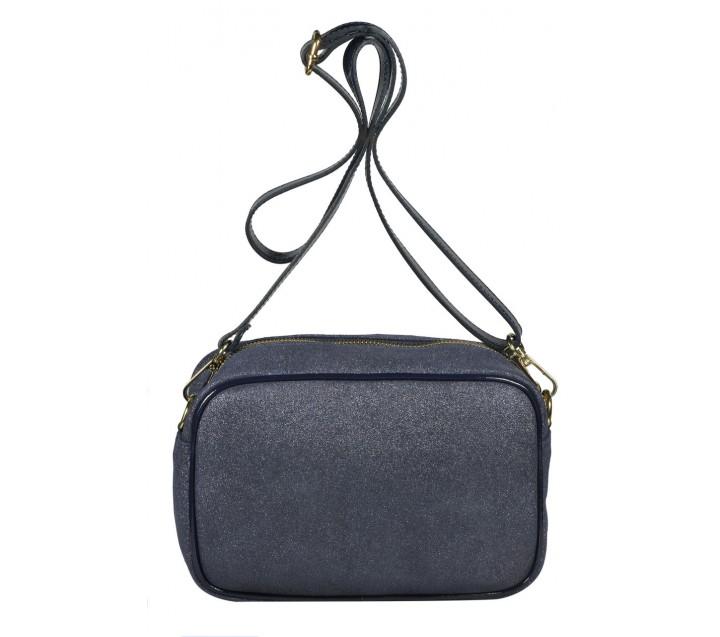 Di Gregorio сумка 8551 кожа искра синий