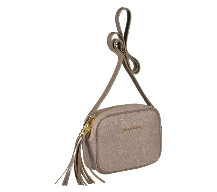 Di Gregorio сумка 8522 кожа металлик бронза
