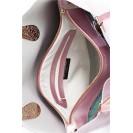 Di Gregorio сумка 896 лак насыщенно-розовый