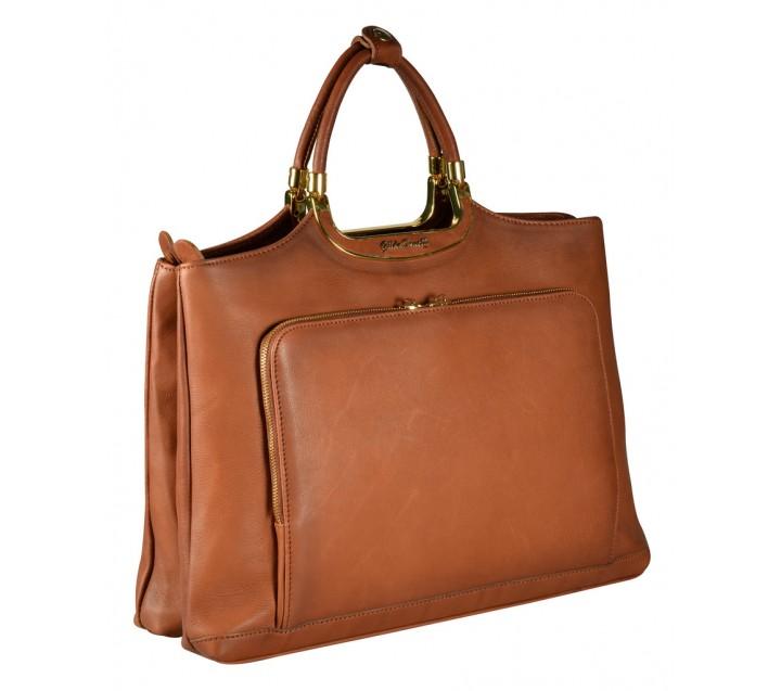 Gilda Tonelli сумка 5199 кожа софт рыжий