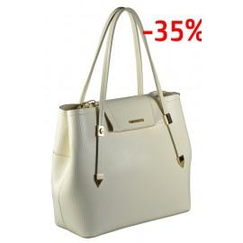 Gironacci сумка 821 кожа кубик панна/таупе