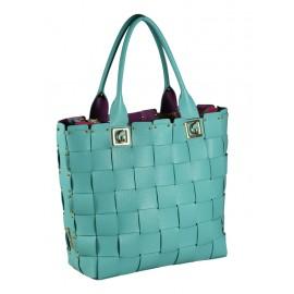 Gironacci сумка 142 кожа марине/фиолетовый