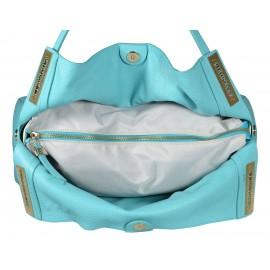 Gironacci сумка 643 кожа аквамарин