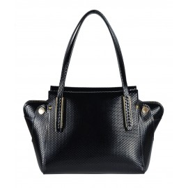 Gironacci сумка 640 кожа кубик черный/цемент