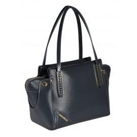 Gironacci сумка 640 кожа кубик серый/цемент