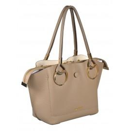 Gironacci сумка 460 кожа таупе/панна