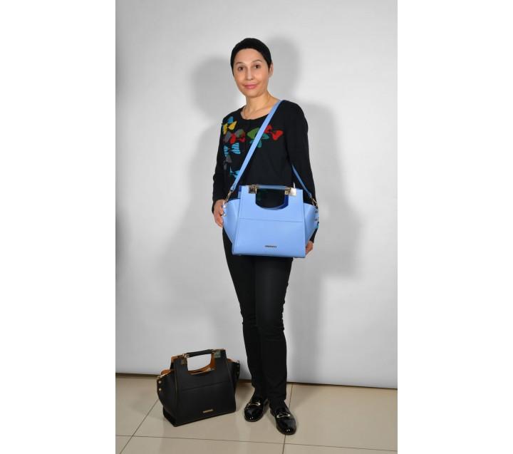 Gironacci сумка 362 кальф корда/синий