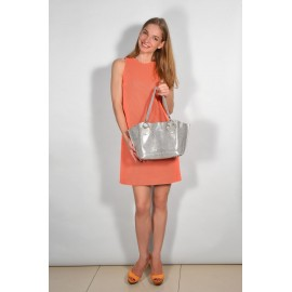 Gironacci сумка 460 кожа платина/платина