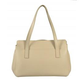 Gironacci сумка 161 кожа бежевый/панна