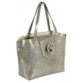 Gironacci сумка 163 калф платино/панна
