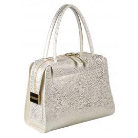 Gironacci сумка 1271 кожа граин золото/панна