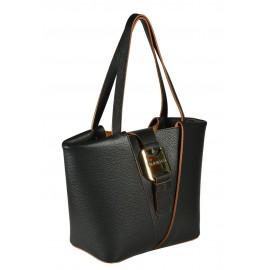 Gironacci сумка 1380 кожа черный/койо