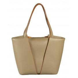 Gironacci сумка 1380 кожа пудра/койо